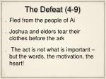 the defeat 4 9
