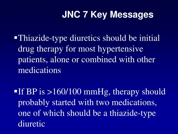 JNC 7 Key Messages