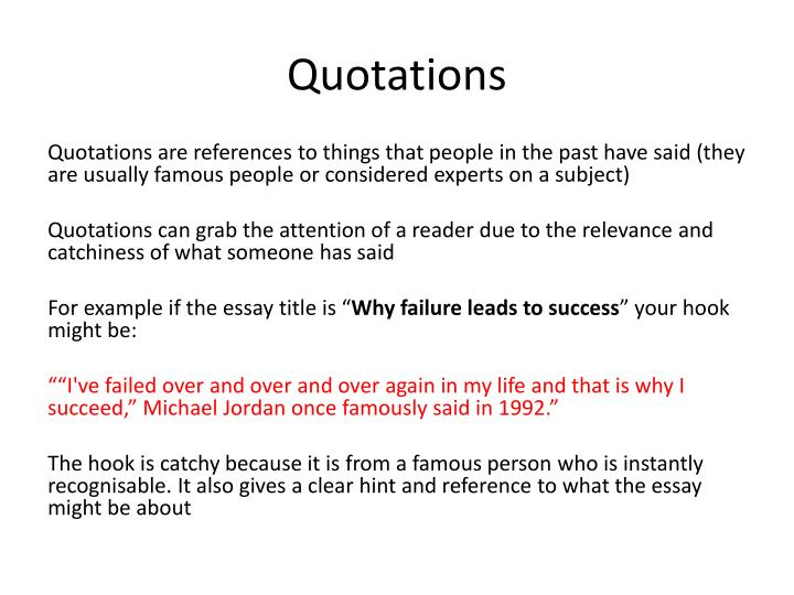 essay on failure leads to success