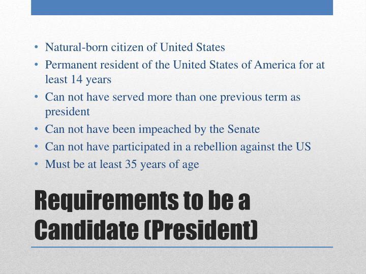 Natural-born citizen of United States