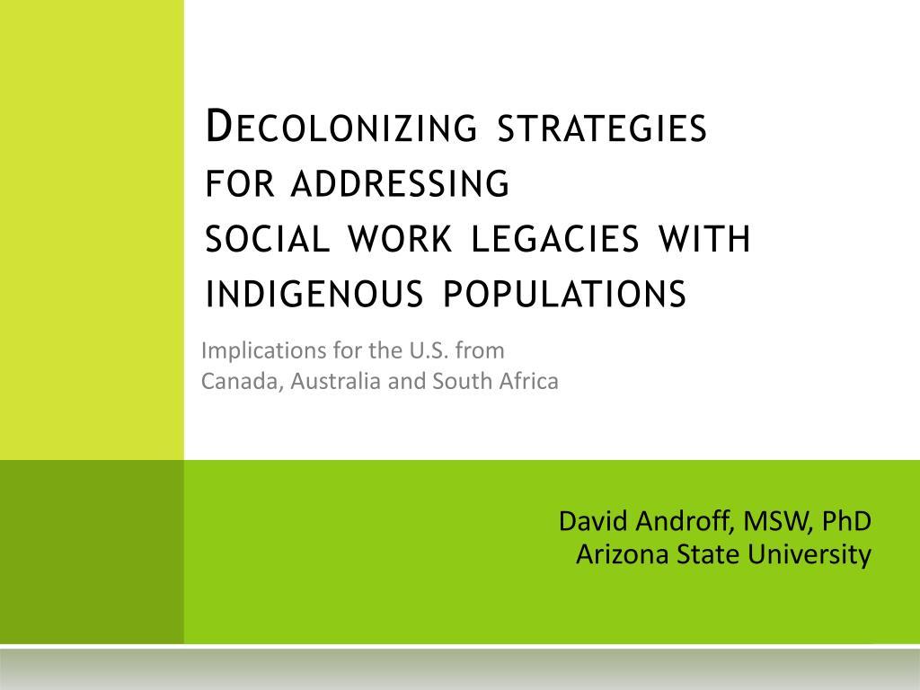 social work strategies