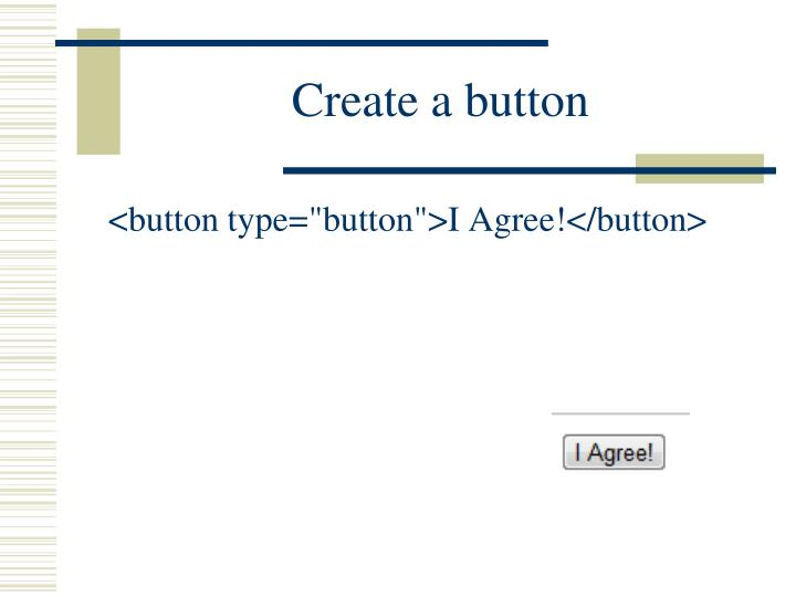 Create a button