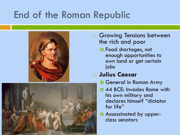 End of the Roman Republic