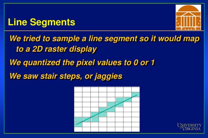 Line Segments