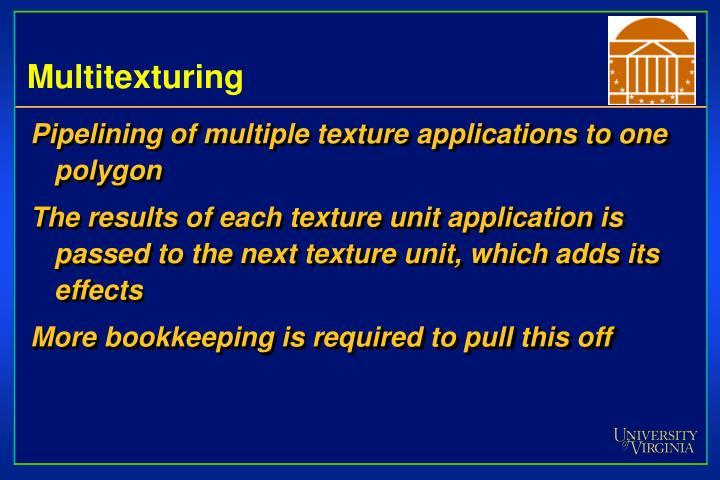 Multitexturing
