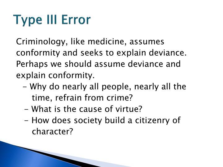 Type III Error