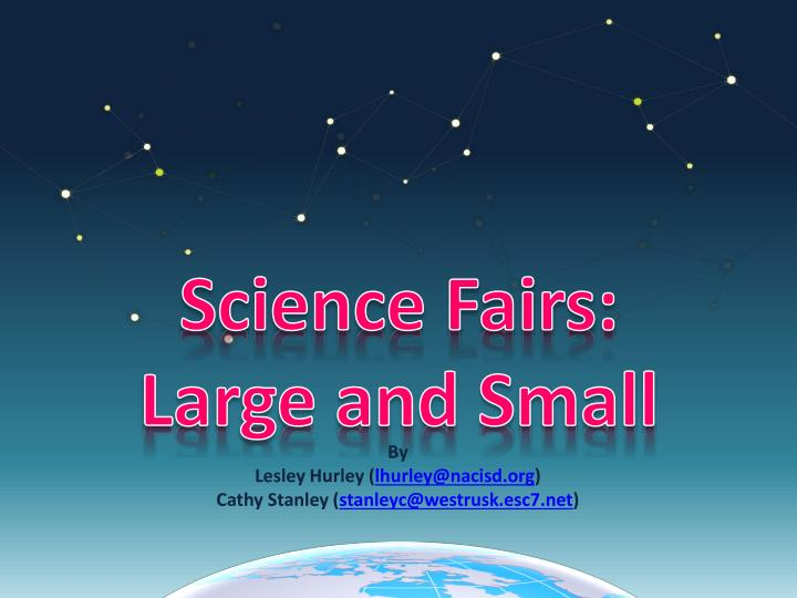 science fairs large and small n.