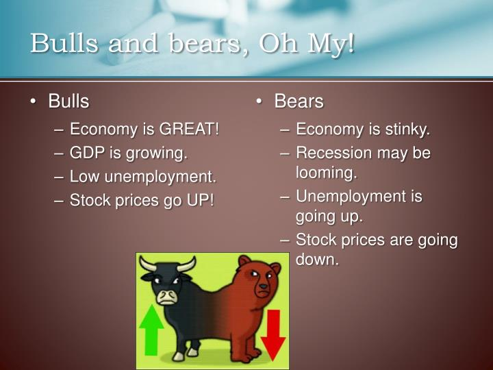 Bulls and bears, Oh My!