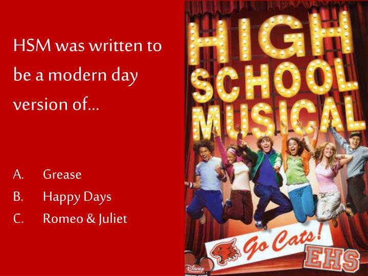 HSM was written to be a modern day version of…