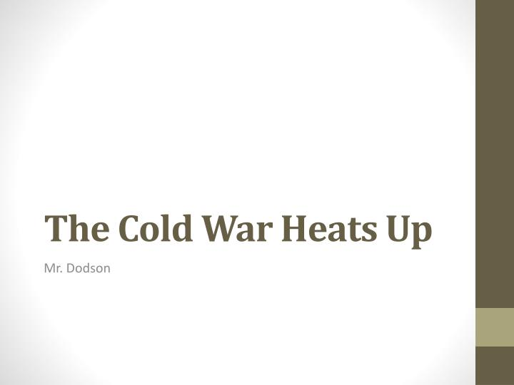 how did the cold war affect the The cold war did end in the victory of one side and in the defeat of the other this reality cannot be denied, despite the understandable sensitivities that such a conclusion provokes among the tenderhearted in the west and some of the former leaders of the defeated side.
