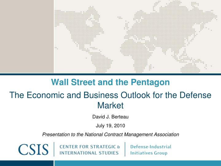 wall street and the pentagon n.