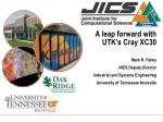 a leap forward with utk s cray xc30