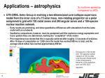 applications astrophysics1
