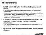 mpi benchmarks