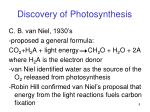 discovery of photosynthesis1