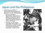 japan and the philippines