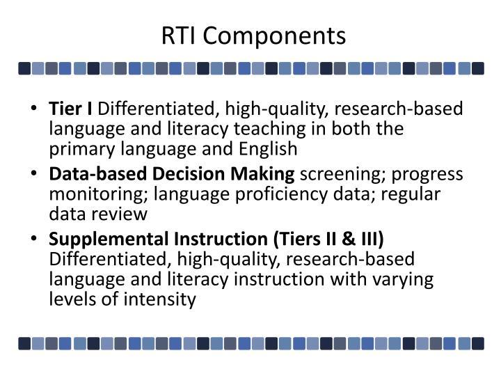 Rti components