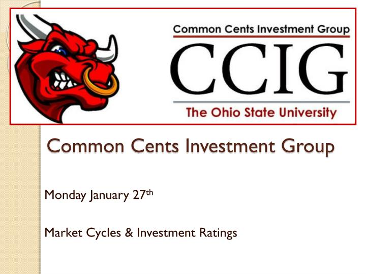 common cents investment group n.