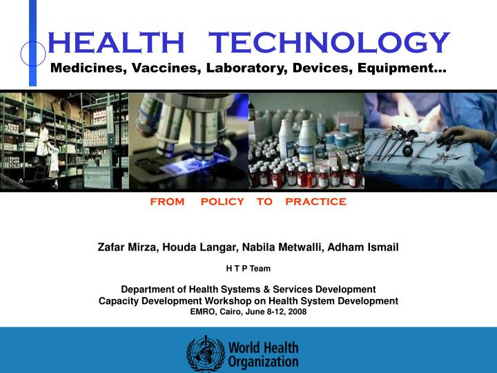 health technology medicines vaccines laboratory devices equipment n.