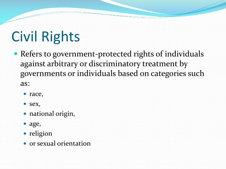 Civil rights1