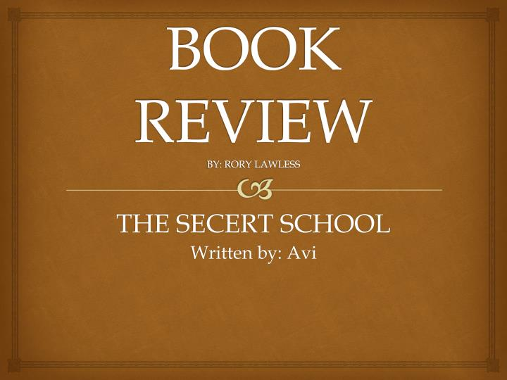 book review by rory lawless n.