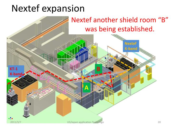 Nextef expansion