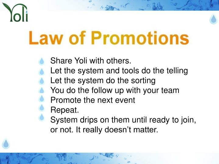 Share Yoli with others.