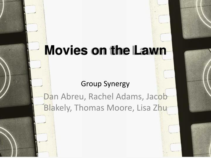 movies on the lawn n.