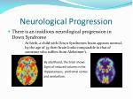 neurological progression
