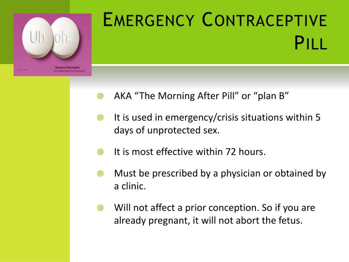 PPT - Contraceptive Methods! PowerPoint Presentation - ID ...
