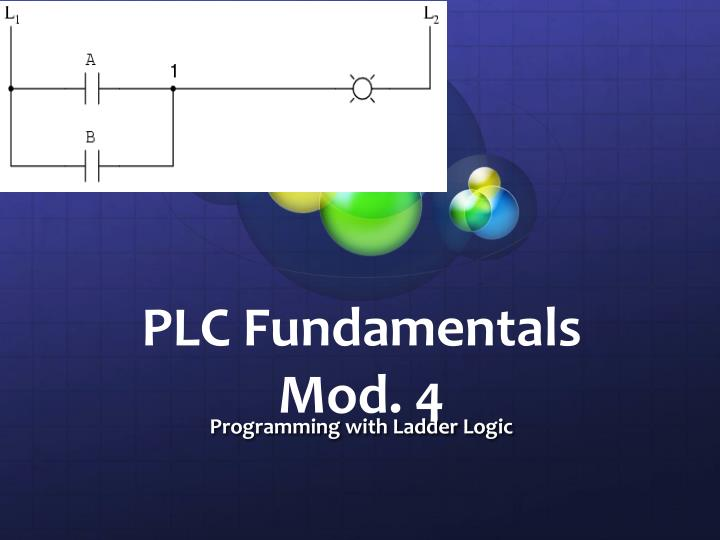 Ppt plc fundamentals mod 4 powerpoint presentation id2715704 plc fundamentalsmod 4 programming with ladder logic ccuart Image collections
