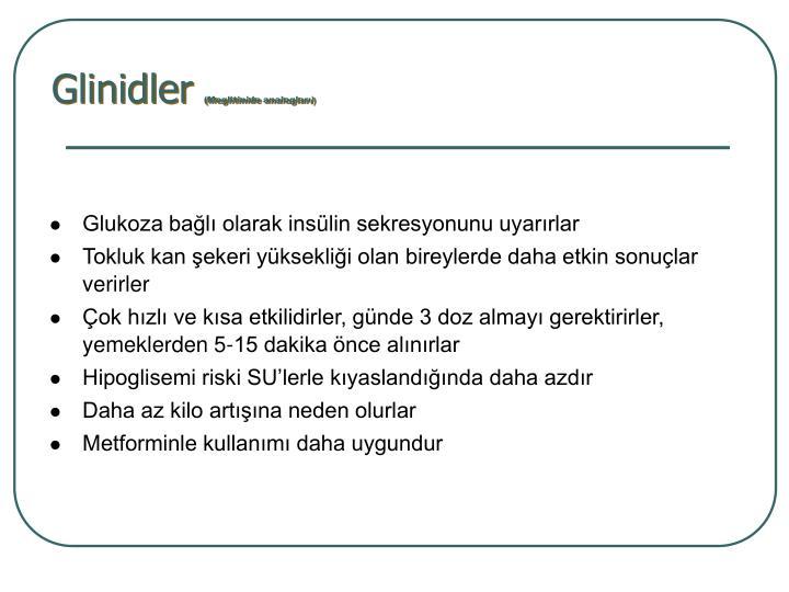 Glinidler