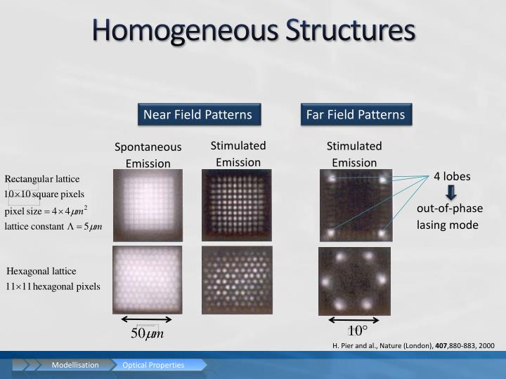 Homogeneous Structures