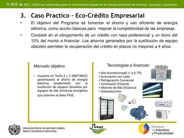 Caso Practico – Eco-Crédito Empresarial