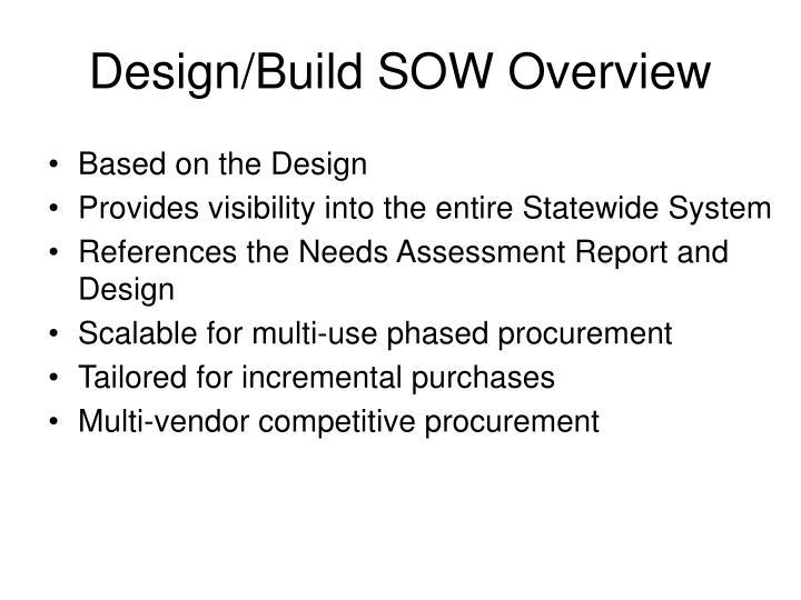 Design/Build SOW Overview