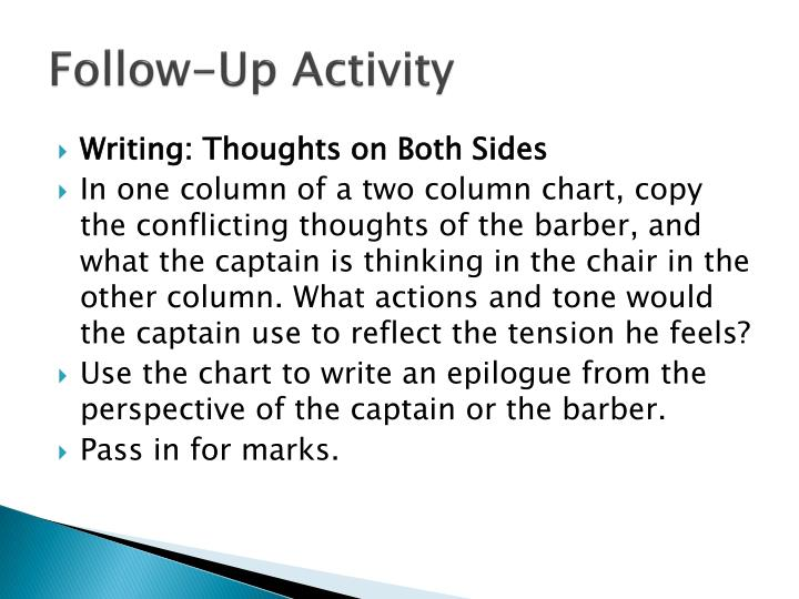 Follow-Up Activity