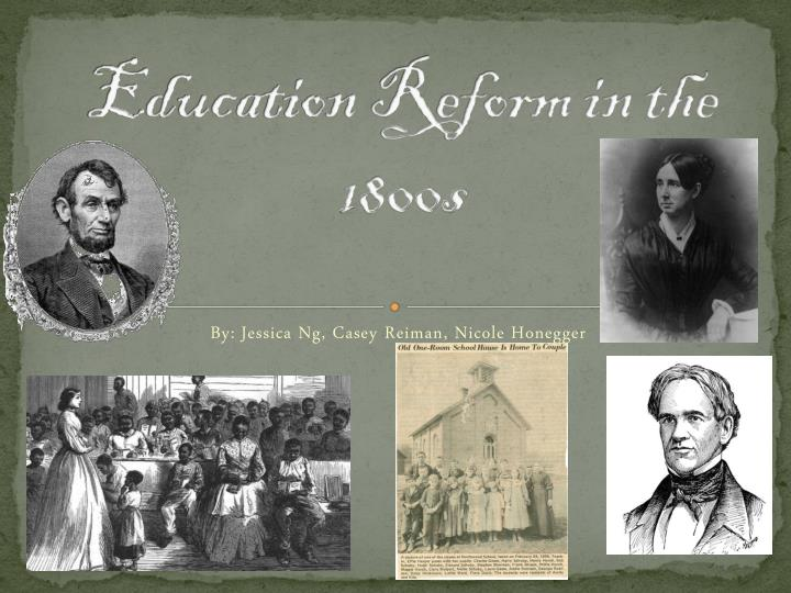 education in the 1800s essay