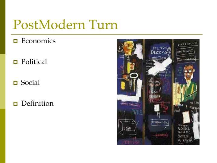 Postmodern turn