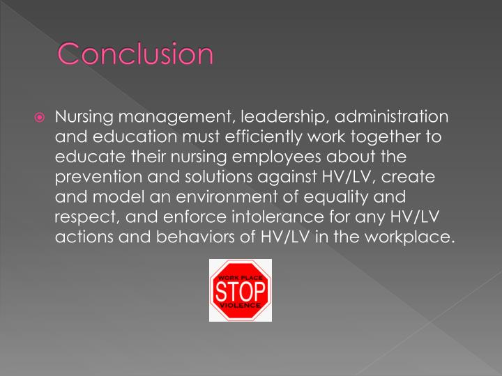 horizontal violence in nursing
