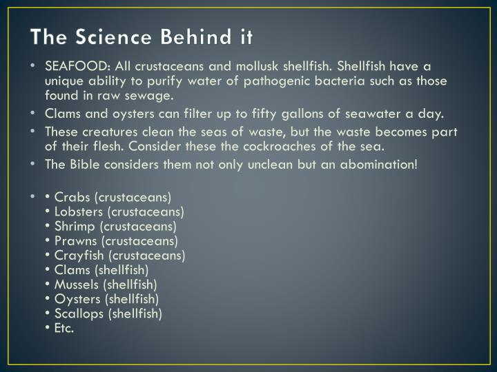 The Science Behind it