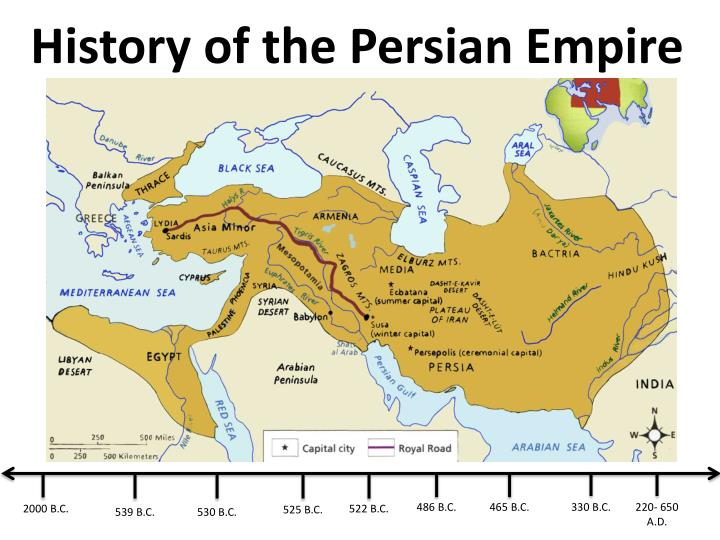 history of the persian empire n.