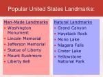 popular united states landmarks