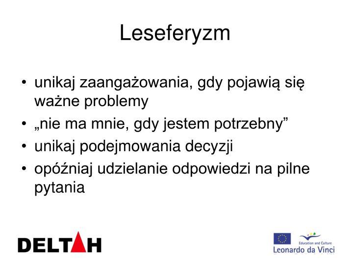 Leseferyzm