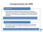 componentes do dre5