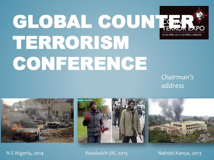 global counter terrorism conference n.