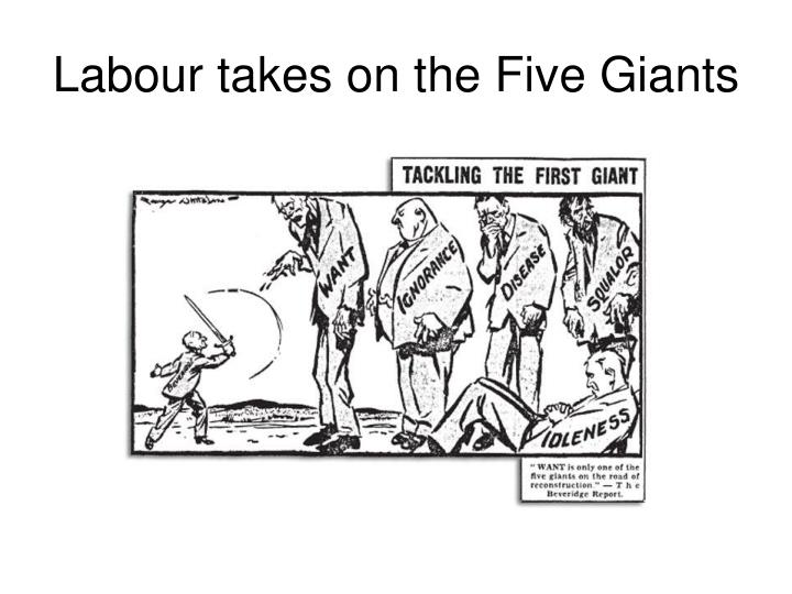 Labour takes on the Five Giants