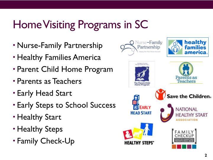 Home visiting programs in sc
