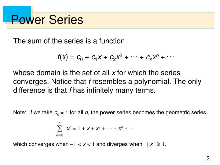Power series1