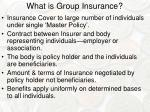 what is group insurance