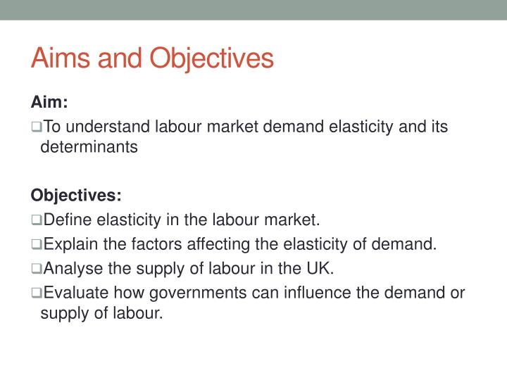 explain the concept of elasticity of demand